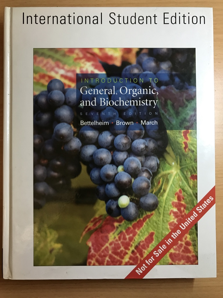 Introduction To General, Organic And Biochemistry (7th Edition)